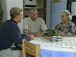 Scott Robinson, Jim Robinson, Helen Daniels in Neighbours Episode 0963