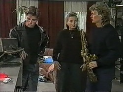 Mike Young, Bronwyn Davies, Henry Ramsay in Neighbours Episode 0963