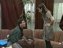 Des Clarke, Kerry Bishop in Neighbours Episode 0963