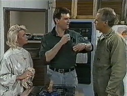 Helen Daniels, Des Clarke, Jim Robinson in Neighbours Episode 0963