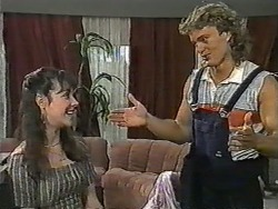 Kerry Bishop, Henry Ramsay in Neighbours Episode 0964