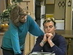 Madge Bishop, Scott Robinson in Neighbours Episode 0964