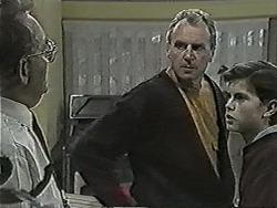 Harold Bishop, Jim Robinson, Todd Landers in Neighbours Episode 1029