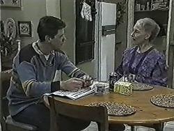 Joe Mangel, Mary Crombie in Neighbours Episode 1029
