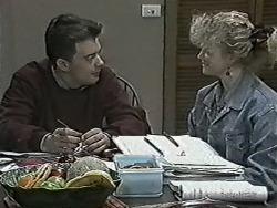 Matt Robinson, Sharon Davies in Neighbours Episode 1030