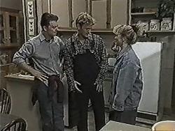 Matt Robinson, Henry Ramsay, Sharon Davies in Neighbours Episode 1030