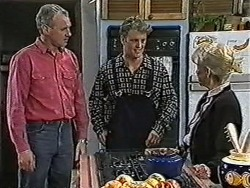 Jim Robinson, Henry Ramsay, Helen Daniels in Neighbours Episode 1031