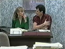 Jane Harris, Des Clarke in Neighbours Episode 1032