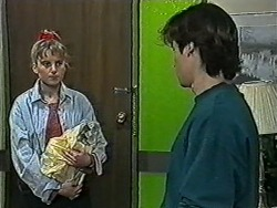 Bronwyn Davies, Mike Young in Neighbours Episode 1032