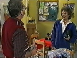Harold Bishop, Robyn Taylor in Neighbours Episode 1032