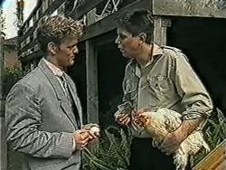 Henry Ramsay, Joe Mangel in Neighbours Episode 1033