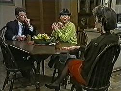Paul Robinson, Hilary Robinson, Gail Robinson in Neighbours Episode 1033
