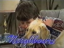 Toby Mangel, Bouncer in Neighbours Episode 1033