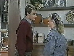 Nick Page, Sharon Davies in Neighbours Episode 1034