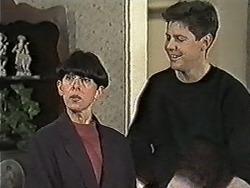 Hilary Robinson, Joe Mangel in Neighbours Episode 1034