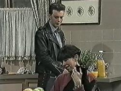 Matt Robinson, Hilary Robinson, Arthur in Neighbours Episode 1034