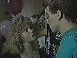 Sharon Davies, Nick Page in Neighbours Episode 1034