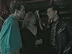 Nick Page, Sharon Davies, Matt Robinson in Neighbours Episode 1034