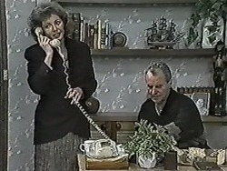 Beverly Marshall, Jim Robinson in Neighbours Episode 1034