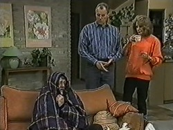 Harold Bishop, Jim Robinson, Madge Bishop in Neighbours Episode 1036