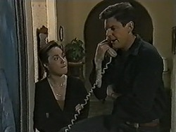 Kerry Bishop, Joe Mangel in Neighbours Episode 1036
