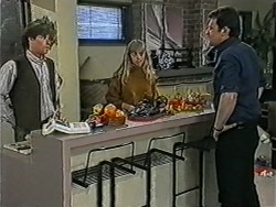 Mike Young, Jane Harris, Des Clarke in Neighbours Episode 1036