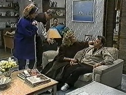 Madge Bishop, Jim Robinson, Katie Landers, Beverly Marshall, Harold Bishop in Neighbours Episode 1037