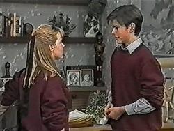 Melissa Jarrett, Todd Landers in Neighbours Episode 1038