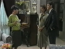 Hilary Robinson, Gail Robinson, Paul Robinson in Neighbours Episode 1039
