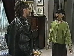 Mike Young, Hilary Robinson in Neighbours Episode 1039