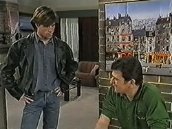 Mike Young, Des Clarke in Neighbours Episode 1039