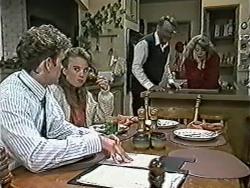 Henry Ramsay, Bronwyn Davies, Harold Bishop, Madge Bishop in Neighbours Episode 1040