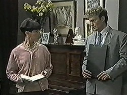 Hilary Robinson, Henry Ramsay in Neighbours Episode 1040