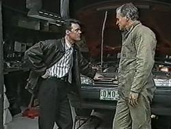 Paul Robinson, Jim Robinson in Neighbours Episode 1040
