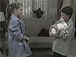 Katie Landers, Toby Mangel, Rupert in Neighbours Episode 1043