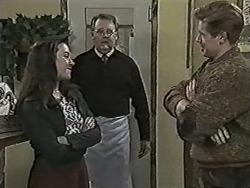 Kerry Bishop, Harold Bishop, Clive Gibbons in Neighbours Episode 1044
