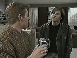 Clive Gibbons, Mike Young in Neighbours Episode 1044