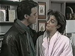 Paul Robinson, Gail Robinson in Neighbours Episode 1045
