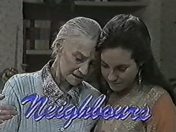 Mary Crombie, Kerry Bishop in Neighbours Episode 1045