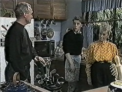 Jim Robinson, Nick Page, Helen Daniels in Neighbours Episode 1045