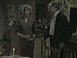 Madge Bishop, Harold Bishop in Neighbours Episode 1045
