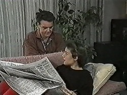 Paul Robinson, Gail Robinson in Neighbours Episode 1046