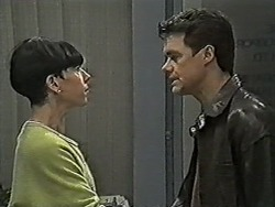 Hilary Robinson, Paul Robinson in Neighbours Episode 1046