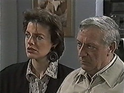 Gail Robinson, Rob Lewis in Neighbours Episode 1046