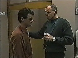 Paul Robinson, Jim Robinson in Neighbours Episode 1046