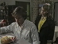 Mike Young, Bronwyn Davies in Neighbours Episode 1046