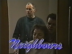 Jim Robinson, Gail Robinson, Paul Robinson in Neighbours Episode 1046