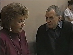 Gloria Lewis, Jim Robinson in Neighbours Episode 1047