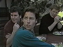 Des Clarke, Mike Young, Clive Gibbons in Neighbours Episode 1047