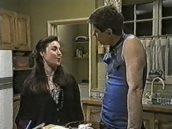 Kerry Bishop, Joe Mangel in Neighbours Episode 1048